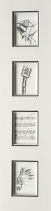 B/W Piano + Micro